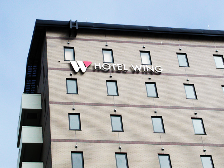 HOTEL WING LEDバックライト 施工実績2